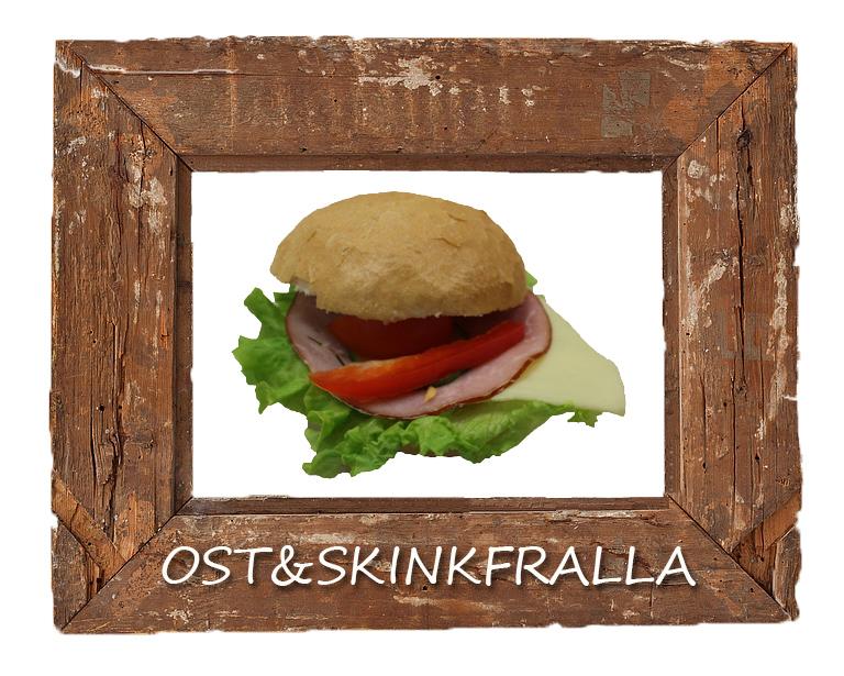 Ost skinkfralla