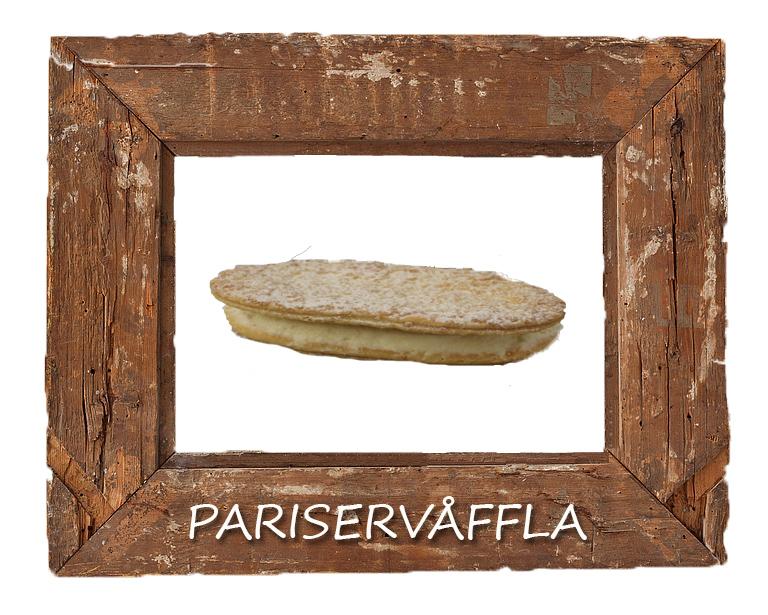 Pariservåffla
